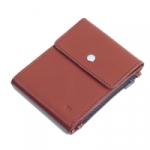 Кожаный зажим для денег Duo (brown)
