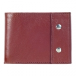 Кожаный кошелек Travel (brown)