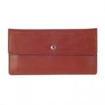 Кожаный кошелек Flat (brown)